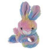 Rainbow Plush Bunny Wrist Hugger