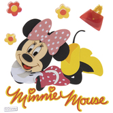Minnie Mouse 3D Stickers