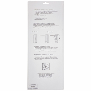 Paper Trimmer & Craft Knives