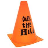 Orange Over The Hill Cone
