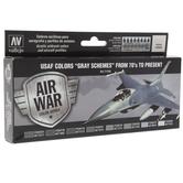 Air War Color Series Model Paint Set