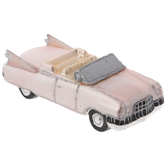 Pink Cadillac Car Ornament