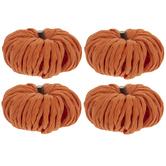 Orange Raffia Pumpkins