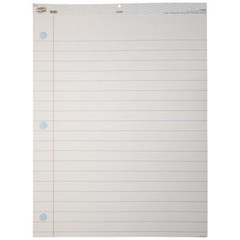Notebook Paper Chart