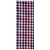 Red, White & Blue Buffalo Check Table Runner