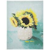 Sunflower Vase Canvas Wall Decor
