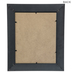 Black Beveled Wood Wall Frame - 8
