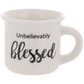 Unbelievably Blessed Mini Mug