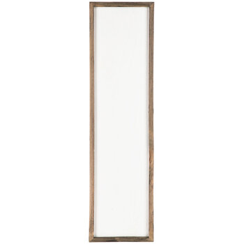 Whitewash Wood Wall Decor - Small