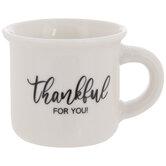 Thankful For You Mini Mug