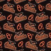 MLB Baltimore Orioles Fleece Fabric