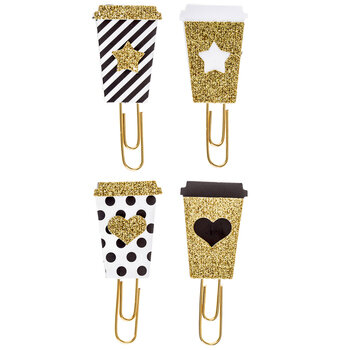 Coffee Cup Paper Clips