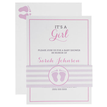 It's A Girl Invitations