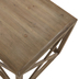 Crisscross Wood Table - Large