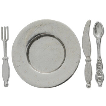 Miniature Silver Tableware