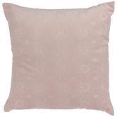 Pink Jacquard Pillow