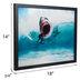 Surfer & Great White Shark Lenticular Wall Decor