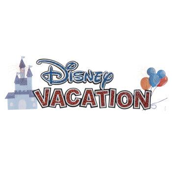 Disney Vacation 3D Sticker