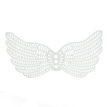 Filigree Angel Wings - 64mm