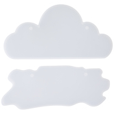 Cloud & Plank Sign Resin Molds