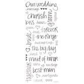 Handwritten Wedding Stickers