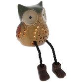 Light Up Owl Shelf Sitter