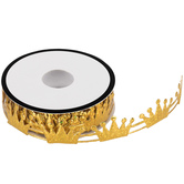 Gold Crown Trim - 7/8""