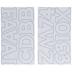 White Alphabet Stickers