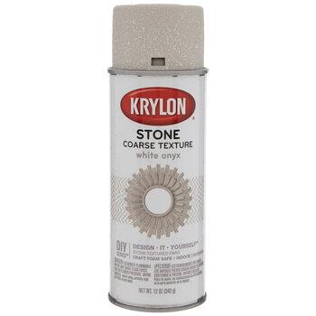 White Onyx Krylon Stone-Textured Spray Paint