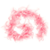 Pink Child's Marabou Feather Boa