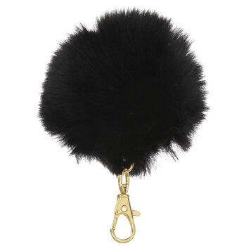 Fuzzy Pom Pom Keychain