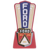 Vintage Ford Logo Wood Wall Decor