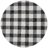 Black & White Buffalo Check Plate