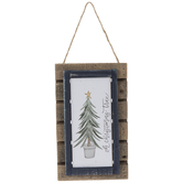 Oh Christmas Tree Palette Wood Wall Decor