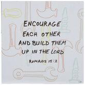 Romans 15:2 Tools Wood Wall Decor