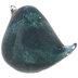 Teal & Green Glass Bird