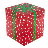 Red & White Polka Dot Box