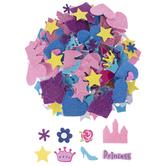 Princess Glitter Foam Stickers