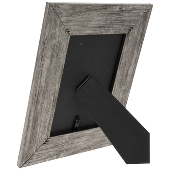 Silver & Black Angled Frame