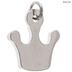 Rhinestone Crown Charm