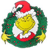 The Grinch In Wreath Wood Wall Decor