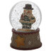Mini Snowman With Gift Snow Globe