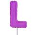 Letter Balloon Garden Pick - L