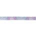 Purple & Blue Ombre Polka Dot Satin Ribbon - 5/8