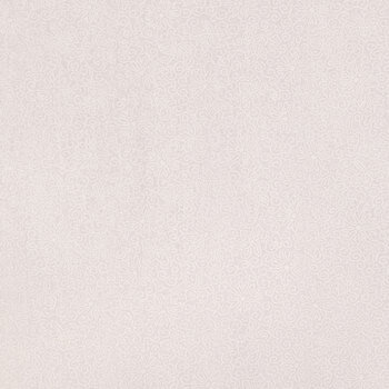 White Floral Cotton Calico Fabric