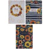 Sunflowers Kitchen Notebooks