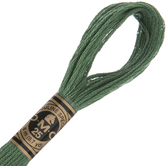 367 Dark Pistachio Green DMC Cotton Embroidery Floss