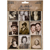 Vintage Photo Booth Strip Embellishments