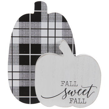 Fall Sweet Fall Pumpkins Wood Decor