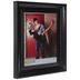 Black Glossy Scoop Wall Frame - 11